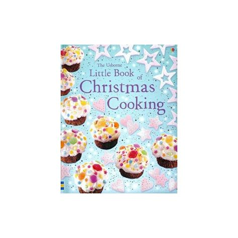 libro a little book of little book of christmas cooking english wooks