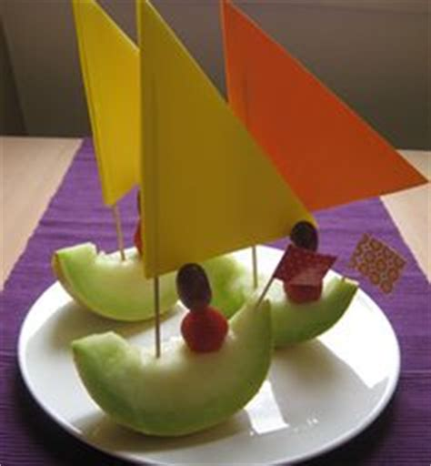 where the wild things are fruit boat how to make fruit race cars for kids apples cars and snacks