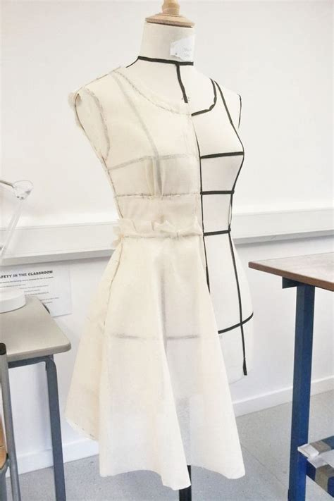 pattern making and garment construction draping on the stand dress structure development