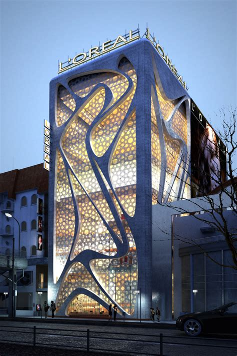 architecture design company world of architecture new l oreal office building by iamz