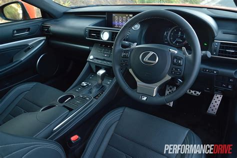 Lexus Rcf Interior by 2015 Lexus Rc 350 F Sport Review Performancedrive
