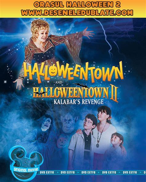 film disney channel in romana orașul halloween 2 răzbunarea lui kalabar 2001 dublat