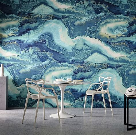 obsidian by anthology azurite wallpaper direct