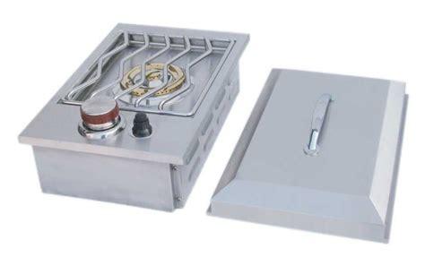 side burners for outdoor kitchens tx outdoor kitchens sunstone single side burner gas