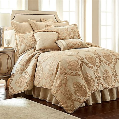 austin horn bedding horn classics prosper comforter set in copper gold bed bath beyond