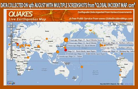 global incident map picture suggestion for quakes global incident map
