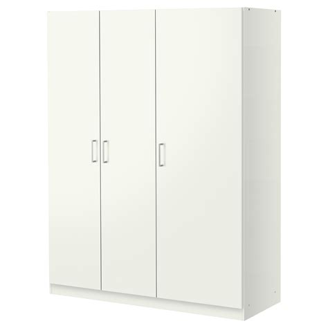 Ikea Arbeitsplatte 90 Tief by Kvikne Wardrobe With 2 Sliding Doors White 120x190 Cm Ikea