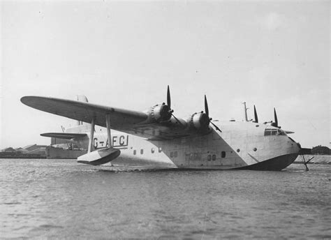 empire flying boat names facts about durban