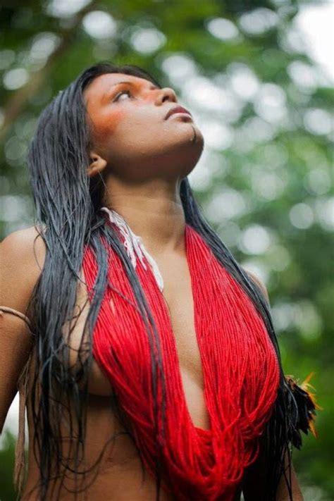 amazon girl brazil amazon tribe guajajara zahy guajajara ind 237 gena