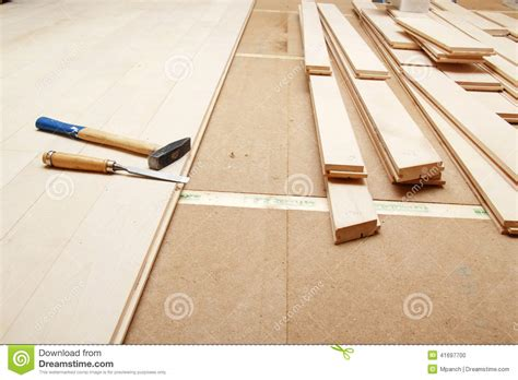 Hardwood Floor Tools by Hardwood Flooring Stock Photo Image 41697700