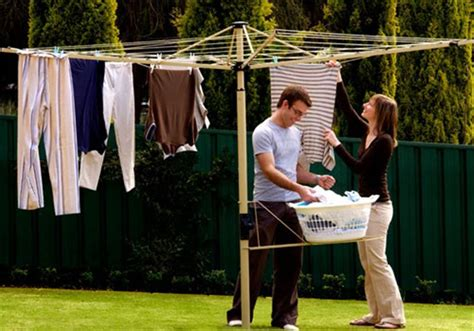 clotheslines for small backyards clothesline specialists retractable rotary racks