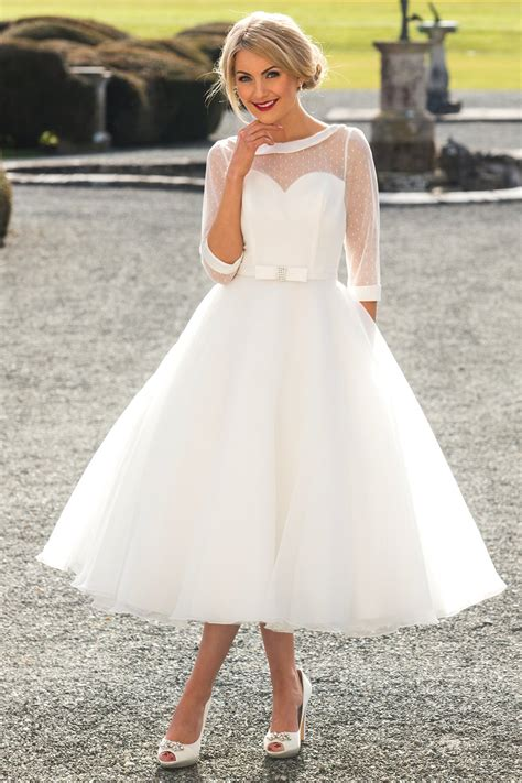 Length Wedding Dress by Tea Length Wedding Dresses Wedding Dresses Sussex
