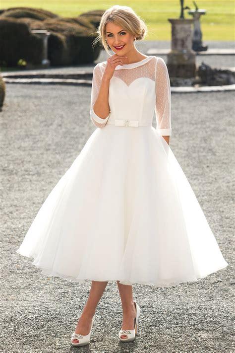 Tea Length Wedding Dresses by Tea Length Wedding Dresses Wedding Dresses Sussex