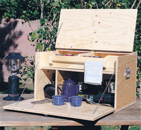 items camp kitchen woodworking plans