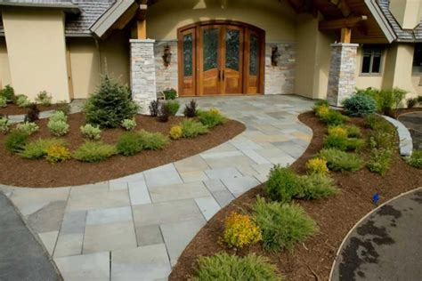 Front Entrance Landscaping Ideas Landscaping This Front Entrance Is Landscaped N