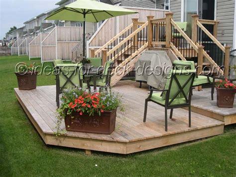 Simple Backyard Deck Ideas Simple Deck Designs Ideas Joy Studio Design Gallery