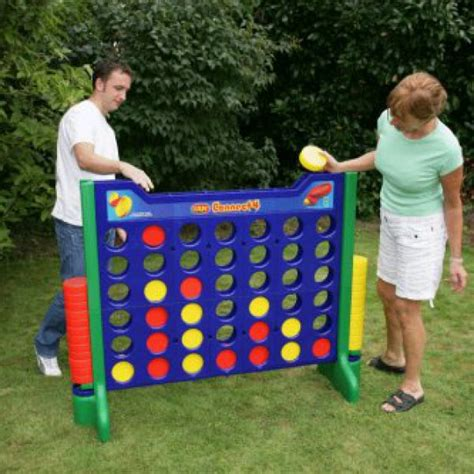 giant backyard games giant four in a row garden game picnicshop
