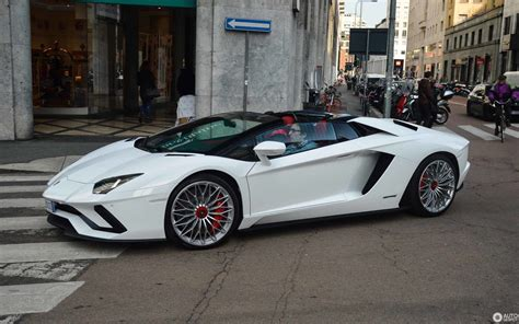 lamborghini aventador s lp740 4 roadster 27 april 2018 autogespot