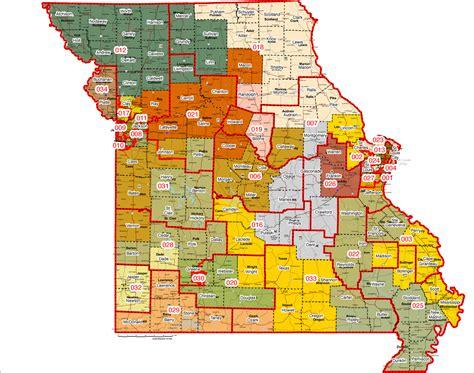 missouri district map legislators pore new district maps audio