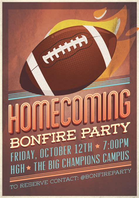 Homecoming Flyer Template By Hitomodachi On Deviantart Homecoming Flyer Template