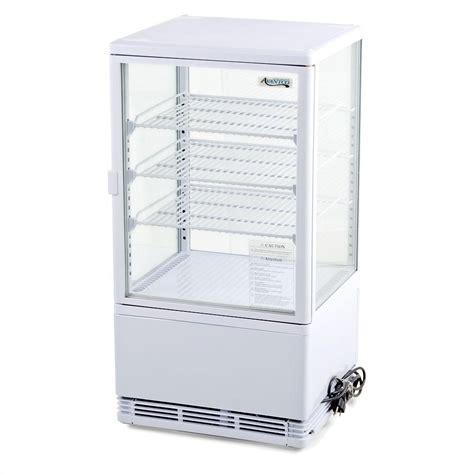 Countertop Refrigerator - avantco fsg 3 glass countertop display refrigerator 3 cu