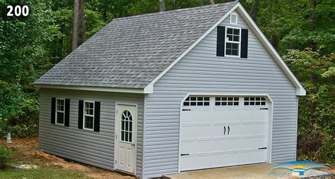 One Car Garage With Loft by One Car Two Story Garage Two Story Prefab Garages