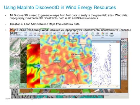 landscape layout mapinfo mapinfo discover 3d for wind energy resources