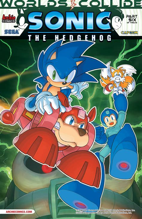 Crush Gear Part Cover Mega Universe quot worlds collide quot reaches the halfway in may with sonic the hedgehog 249 the mega network