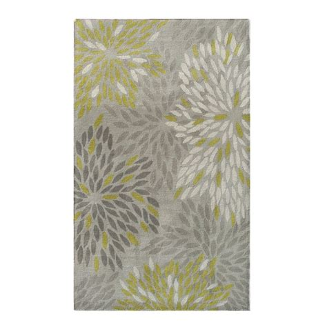 nature area rugs shop the rug market camden gray ivory green rectangular indoor tufted nature area rug common 8