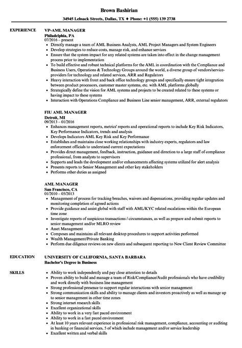 aml resume resume ideas