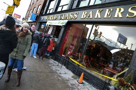 Powerball Giveaway Facebook - window smashed at powerball giveaway bakery toronto star