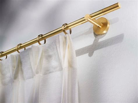 curtain rod styles contemporary style brass curtain rod vesta brass