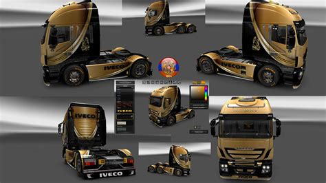 skin pack new year 2017 for iveco hiway and volvo 2012 iveco hiway truck skin packs 1 27 1 7s ets2 mod