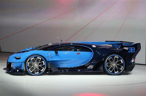 newest bugatti bugatti vision gran turismo hints at chiron