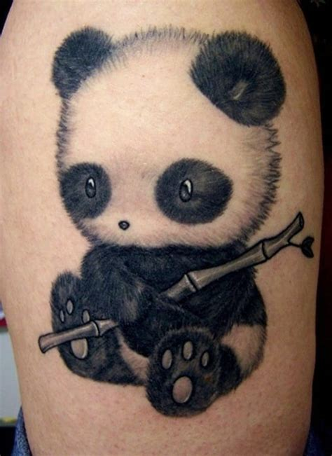 panda tattoo symbolism panda bear tattoo meaning creativefan