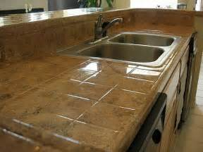 Tile Kitchen Countertop Ideas Tile Kitchen Countertop Pictures And Ideas