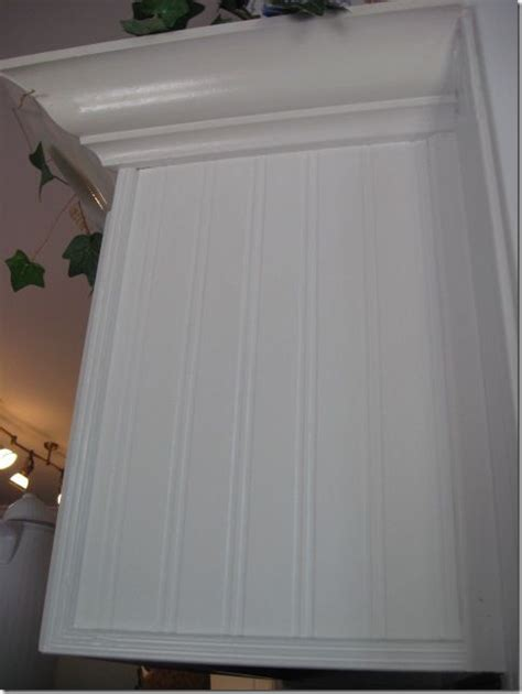 Beadboard Wallpaper Kitchen Cabinets Beadboard Wallpaper Project The End Top Cab And The O Jays