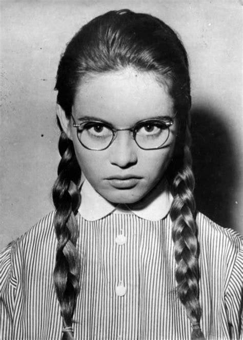 Young Brigitte Bardot. looks like wednesday adams