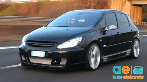 Auto Tuning Peugeot 307 Sw by Peugeot 307 2 0 Tuning