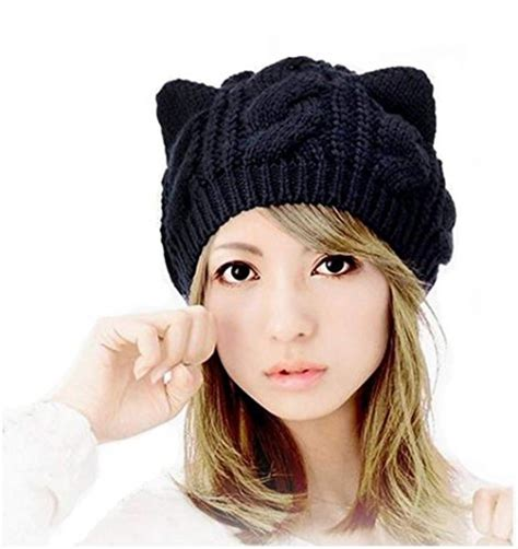 how to knit a hat with ears crochet cat ear hat purrfect cat breeds