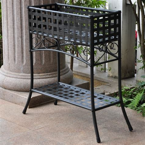 Outdoor Plant Table by International Caravan Galleria Outdoor Plant Stand