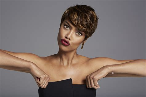 tyra banks just got a super short and super pretty pixie super extravagant pixie haircuts for short hair lovers