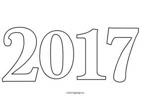 2017 year color happy new year 2017 coloring pages coloring home