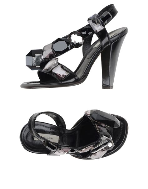 Marc Jabobs Sandals by Lyst Marc Sandals In Black