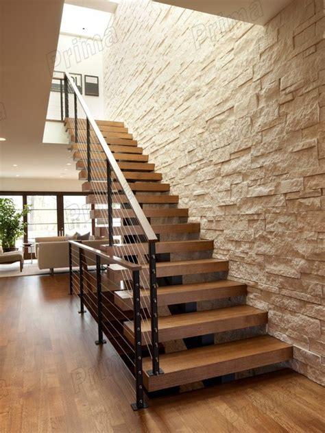 indoor wooden stairs railing steel staircase buy indoor