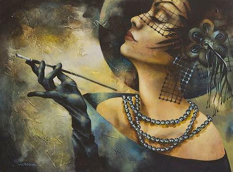 imagenes artisticas femeninas cuadros modernos pinturas y dibujos rostros femeninos