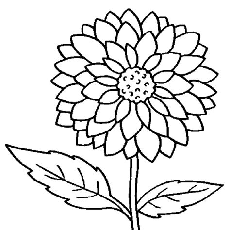Printable Flowers Coloring Pages Coloring Me Flower Coloring Pages For Preschoolers