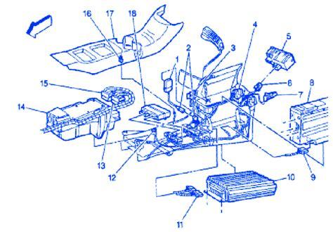 gmc savana bcm  dash  electrical circuit wiring