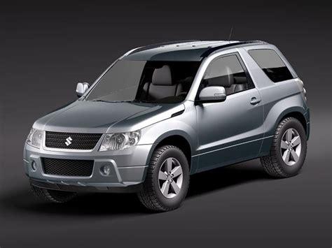 Suzuki Grand Vitara Models Suzuki Grand Vitara 3door 3d Model