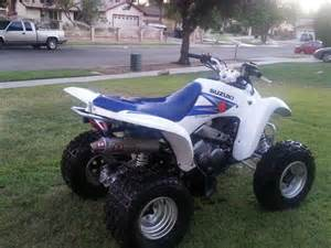 Suzuki 4 Wheelers 2006 Suzuki 250 For Sale Redlands Ca 92374 4 Wheeler